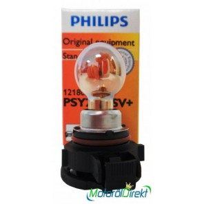 Philips PSY24WSV+ 12V 24W PG20/4 Silver Vision Plus 1St.