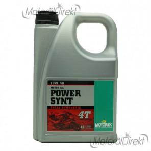MOTOREX 4T Power Synt SAE 10W-50 Motorrad Motoröl 4l