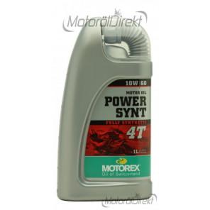 MOTOREX 4T Power Synt SAE 10W-60 Motorrad Motoröl 1l