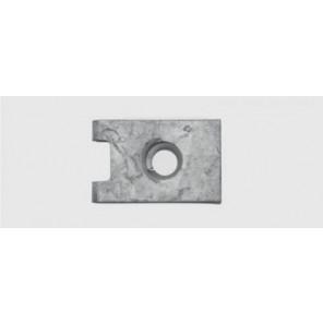 Blechmutter VAG 6,3 / 0,7 - 2 mm, verzinkt 4Stk.