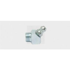 Hydraulikschmiernippel H2 4kant Winkelstellung M8 x 1, verzinkt, DIN 71412 5Stk.