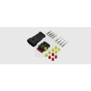 Superseal Steckverbinder-Set 3-polig, 3 x 1,5 mm², DIN 40050-9