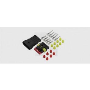 Superseal Steckverbinder-Set 4-polig, 4 x 1,5 mm², DIN 40050-9