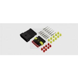 Superseal Steckverbinder-Set 5-polig, 5 x 1,5 mm², DIN 40050-9