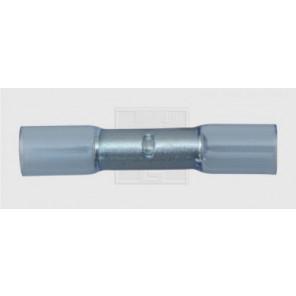 Wärmeschrumpfstoßverbinder 1,5 - 2,5 mm², blau 2Stk.