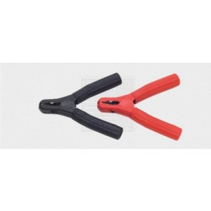 LA Ladezangen vollisoliert Set max. 100 A, für 35 qmm Kabel, schwarz/rot 2Stk.