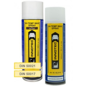Innotec Unterboden- & Hohlraumschutz   Hi-Temp Wax - Spray - Transparent (6100) 500ml