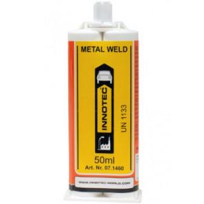 Innotec 2K Metallkleber   Metal Weld - Weiß (0100) 50ml