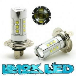 LED Nebelscheinwerfer Birne Lampe H7 100 Watt Cree LED 860 Lumen