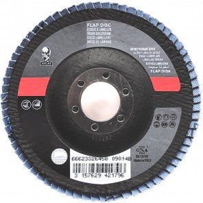 ATLAS Fächerscheibe INOX 125 mm Korn 40