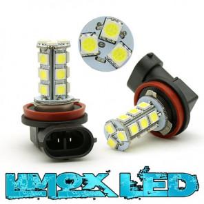 LED Nebelscheinwerfer Birne Lampe H11 18x 5050 SMD Xenon Weiß