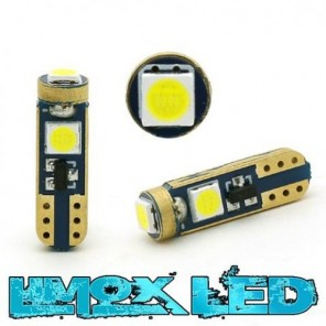 LED Tachobeleuchtung T5 W1.2W 3 LED Weiß