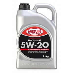 Meguin megol 9291 Motoröl New Engine FE SAE 5W-20 5l