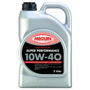 Meguin megol 4365 Diesel & Benziner Motorenoel Super Performance SAE 10W-40 (teilsynth.) 5Liter