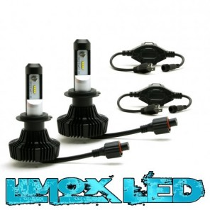 Premium LED Headlight SET Scheinwerferlampen H4