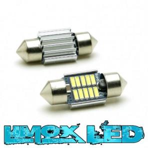 LED Soffitte C5W 31mm 10x 4014 SMD Weiß