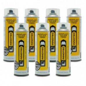 Innotec Repaplast Colour Finish Better Care Gloss Black (5005) (Kunststofflack) 500ml