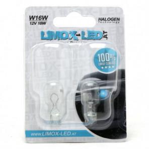 Limox W16W 12V 16W T15 2st. Blister