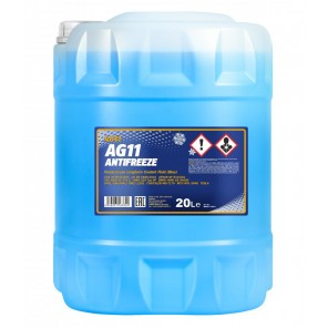 Mannol Kühlerfrostschutz Antifreeze AG11 -40 longterm Fertigmischung 20l Kanister