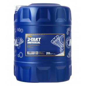 MANNOL 2-Takt Universal mineralisches Motorrad Motoröl 20l