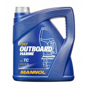 MANNOL Outboard Marine TCW3 Motoröl 4l
