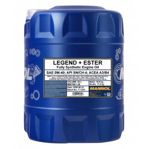 MANNOL Legend+Ester 0W-40 Motoröl 20l Kanister